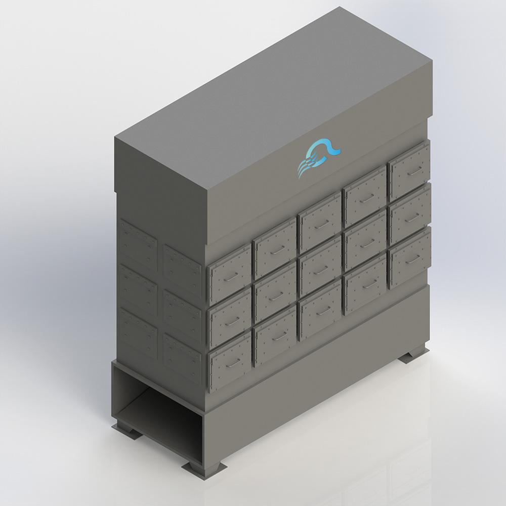 Filtro Assoluto ATP ASFTR - Impianti Aspirazione Industriale
