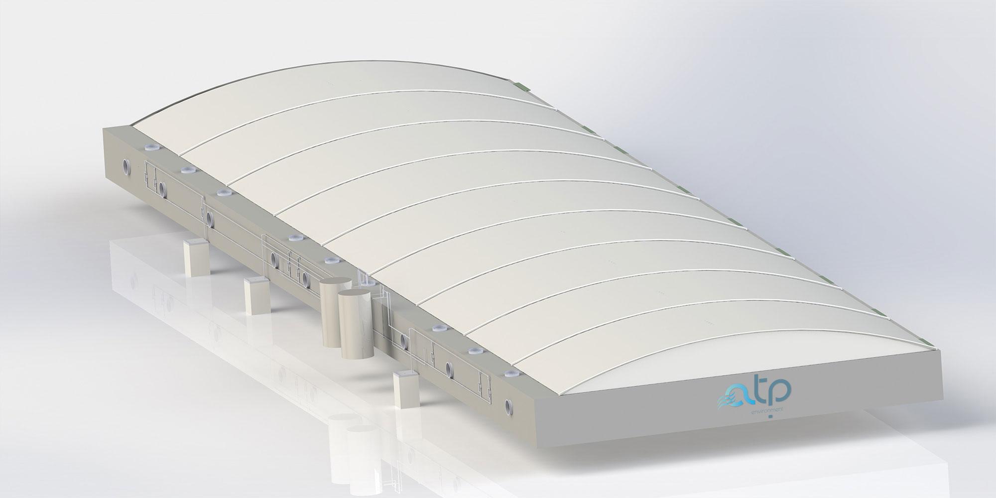 Biofilter Concrete - Industrial Air Treatment