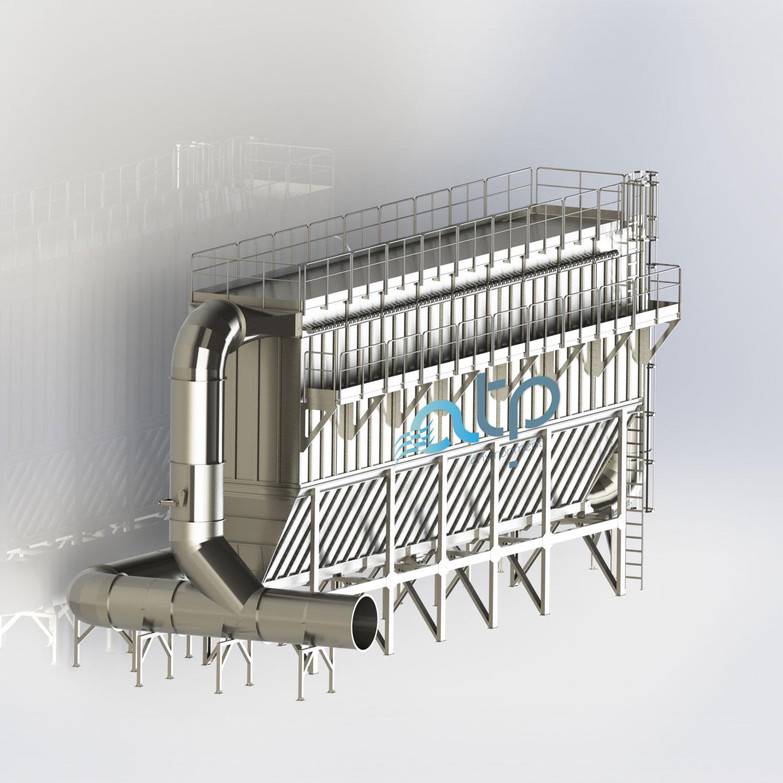 Filtri A Maniche - Impianti Aspirazione Industriale