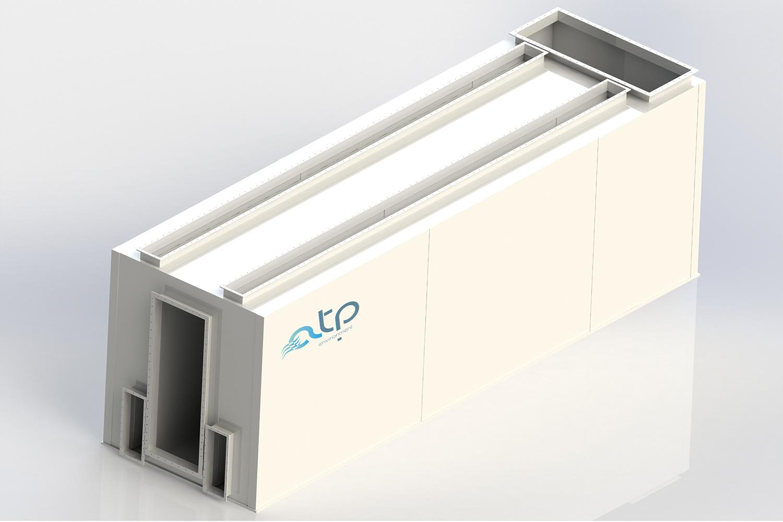 Filtri Statici ATP grande - Impianti Aspirazione Industriale