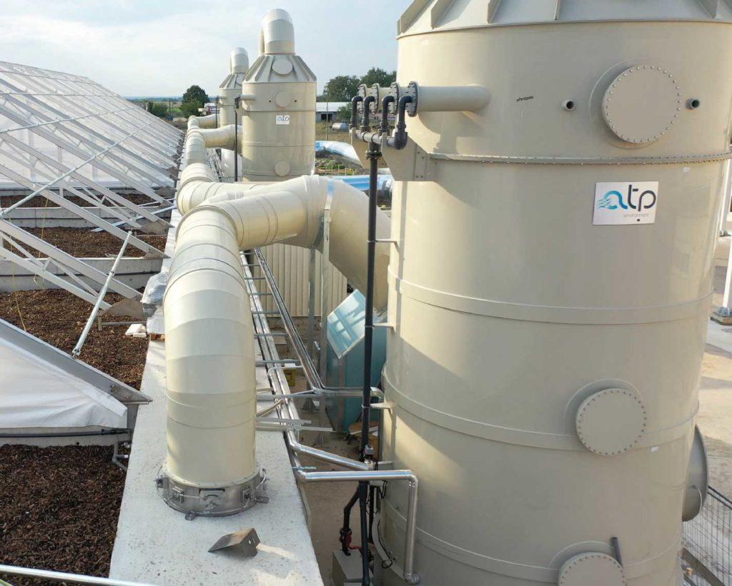 Scrubber Icon - Industrial Air Treatment