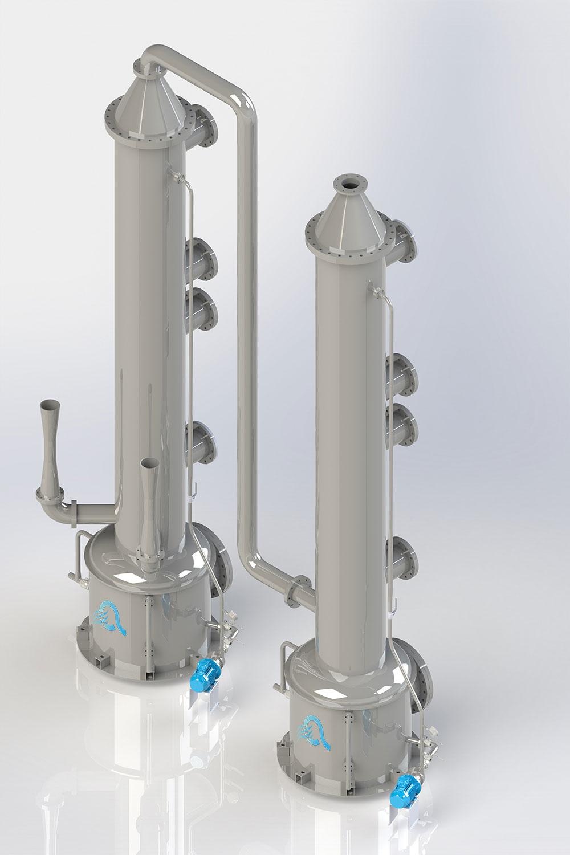 Scrubber - Impianti Aspirazione Industriale