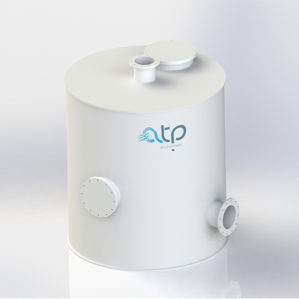 Small Static Filter - Industrial Air Treatment