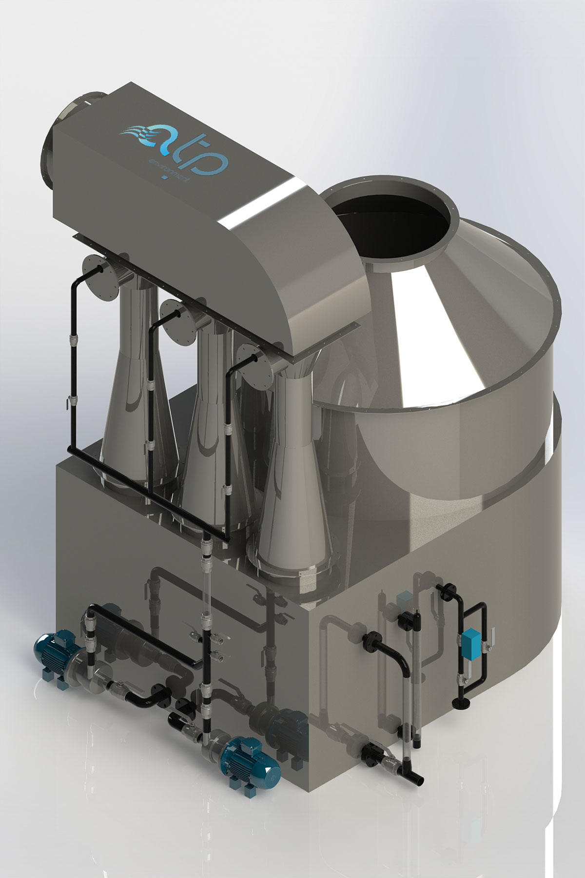 Venturi Scrubber Inox - Industrial Air Treatment